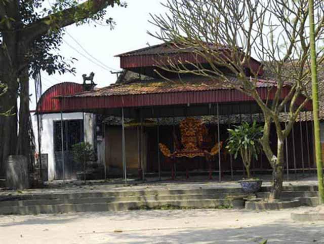 Đền Trù Mật thị xã Phú Thọ