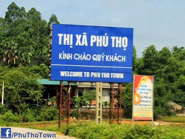 Chào mừng đến với thị xã Phú Thọ