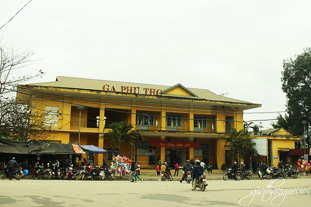 Ga tàu hỏa thị xã Phú Thọ