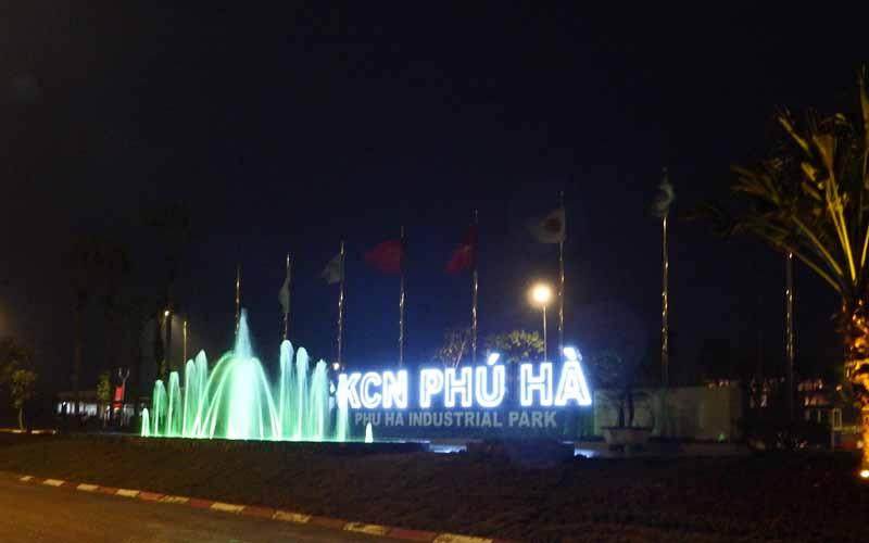 Khu công nghiệp Phú Hà thị xã Phú Thọ