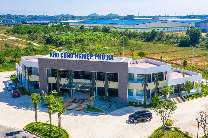 Khu công nghiệp Phú Hà - thị xã Phú Thọ