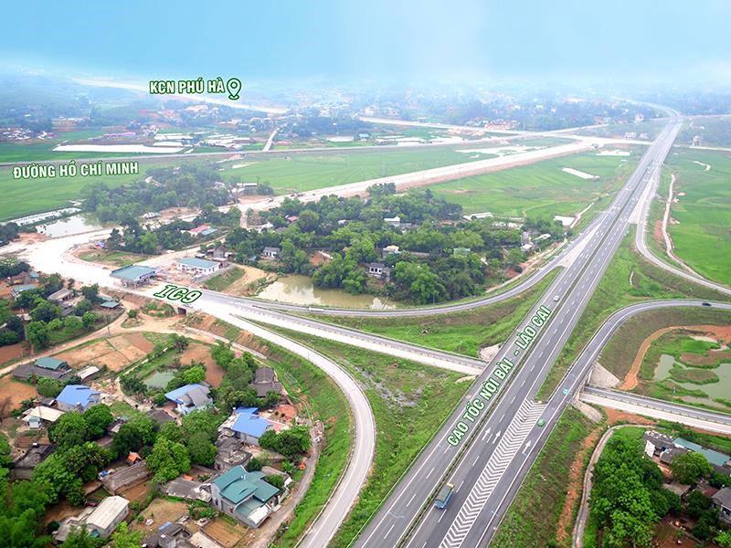 Vị trí khu công nghiệp Phú Hà