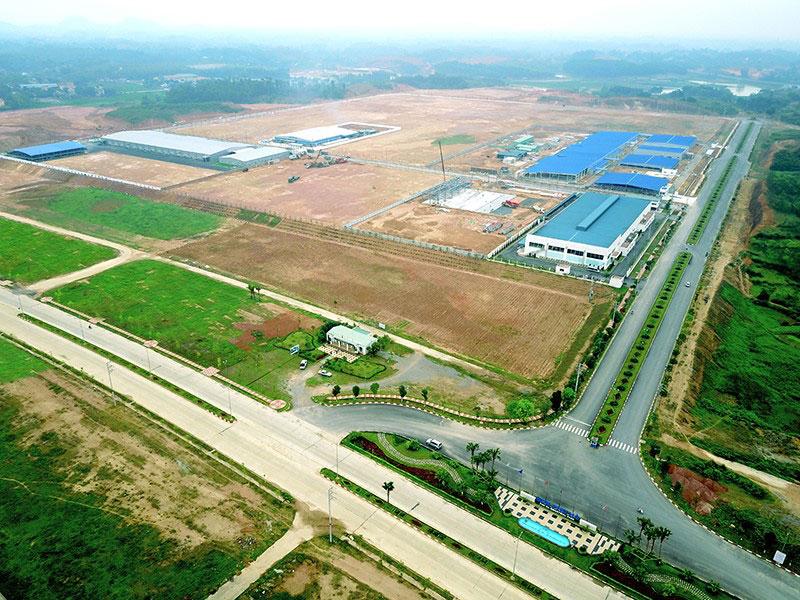 Một góc khu công nghiệp Phú Hà