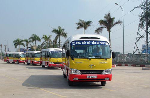 Xe buýt Phú Thọ