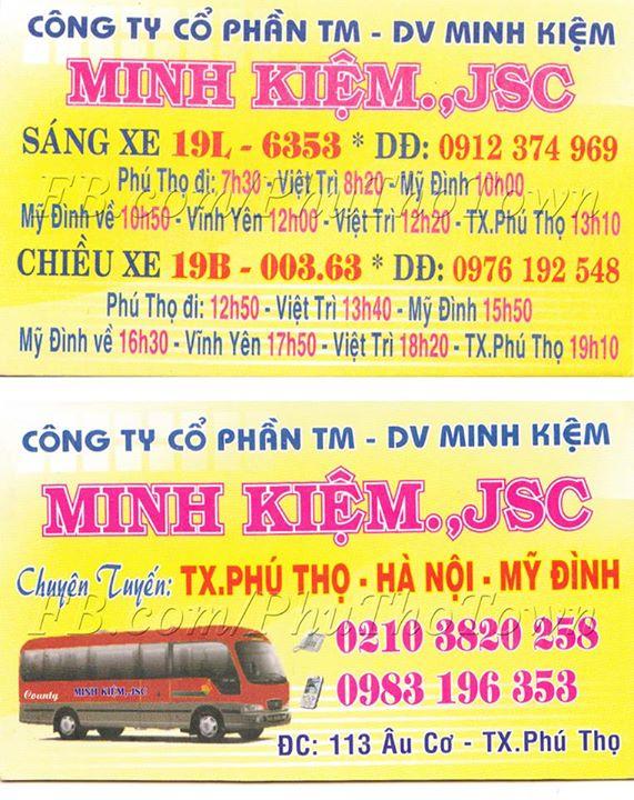 Xe khách Minh Kiệm