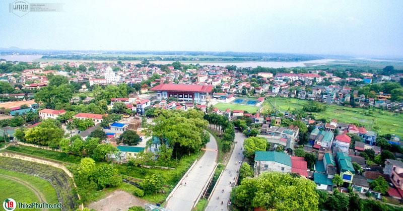 Trung tâm thị xã Phú Thọ năm 2016