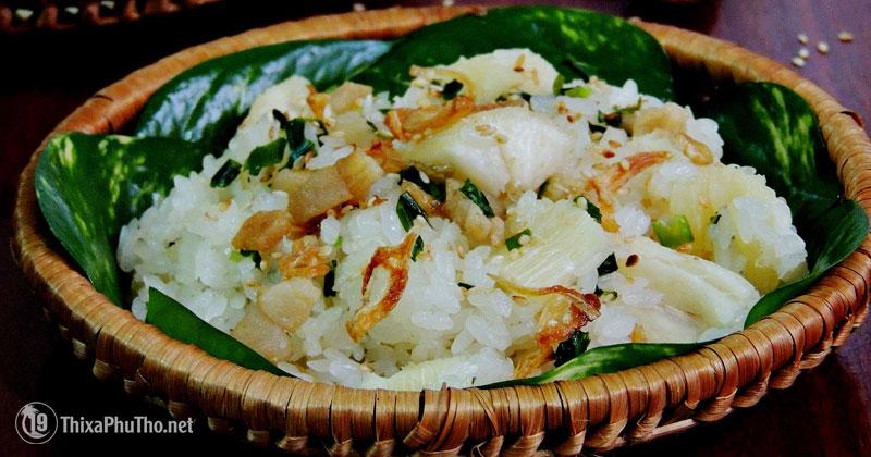 Xôi sắn người Dao - Phú Thọ