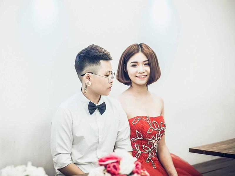 Cặp đôi đồng tính nữ ở Phú Thọ