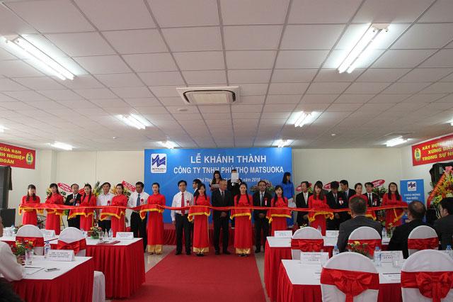 Lễ khánh thành công ty TNHH Phú Thọ Matsuoka
