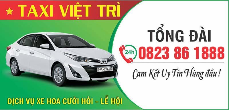 Taxi Việt Trì giá rẻ chất lượng uy tín
