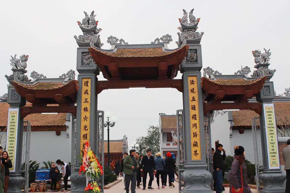 Khánh thành chùa Thắng Sơn tại thị xã Phú Thọ