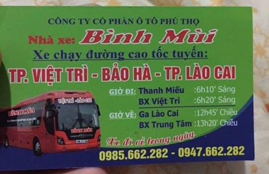Xe nhà Bình Mùi (Việt Trì)