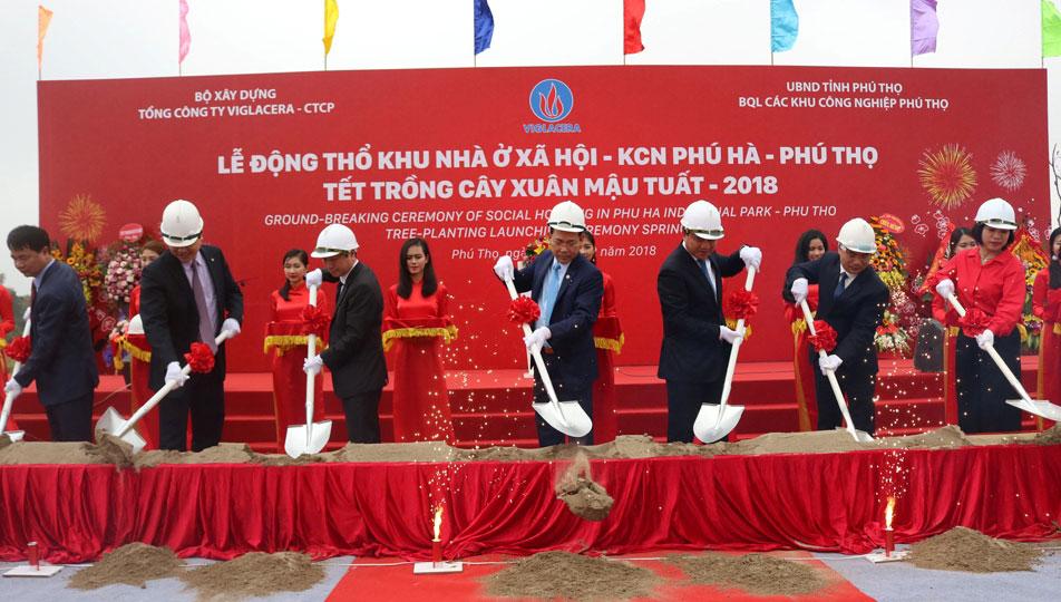 Xây dựng khu nhà ở xã hội tại khu công nghiệp Phú Hà