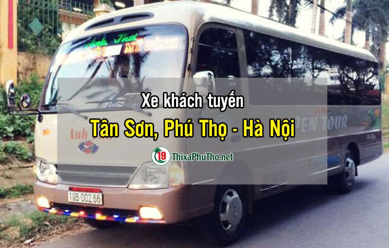 Xe khách tuyến Tân Sơn, Phú Thọ – Mỹ Đình, Hà Nội