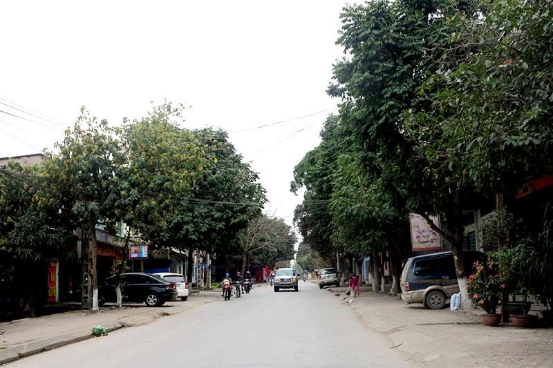 Đường Trường Chinh, phường Âu Cơ, thị xã Phú Thọ