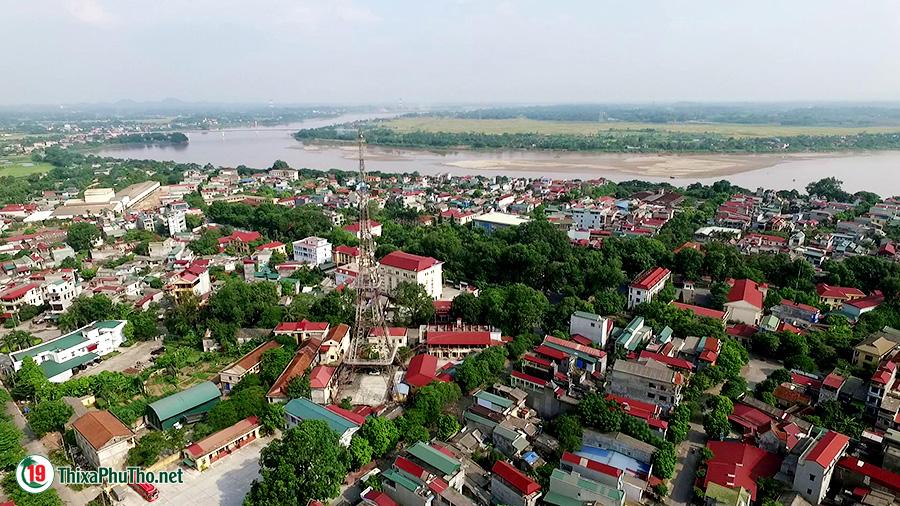 Một góc thị xã Phú Thọ