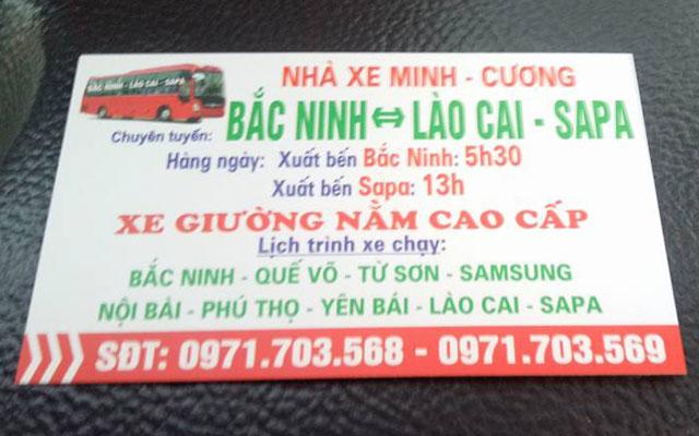 Xe khách Bắc Ninh đi Lào Cai, Sapa