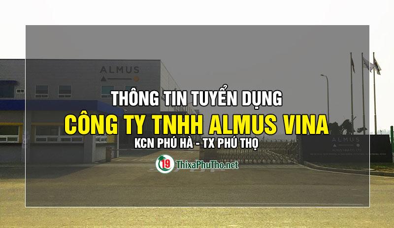 Cty Almus Vina - KCN Phú Hà