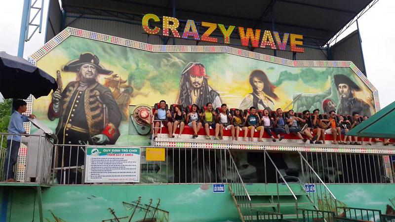 Crazy Wave Đảo Ngọc Xanh Phú Thọ
