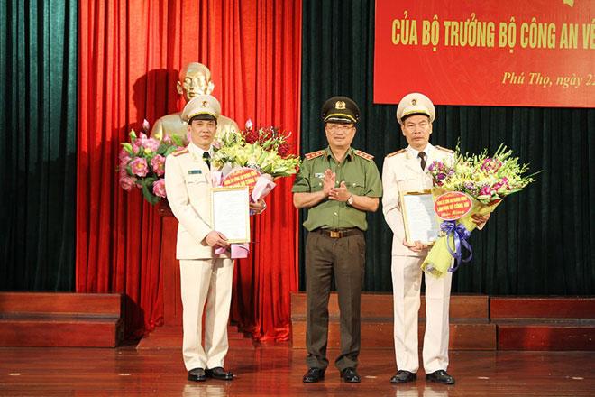 Bổ nhiệm tân giám đốc công an tỉnh Phú Thọ