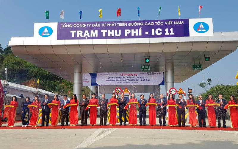 Nút giao IC-11 cao tốc Nội Bài - Lào Cai