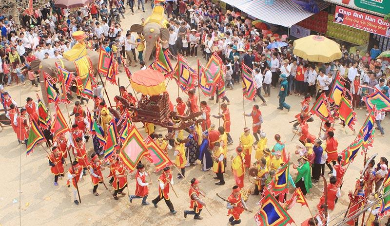 Lễ hội rước voi Đào Xá, Thanh Thủy