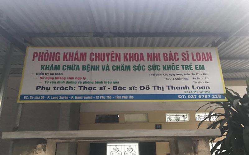 Phòng khám chuyên khoa nhi bác sĩ Loan