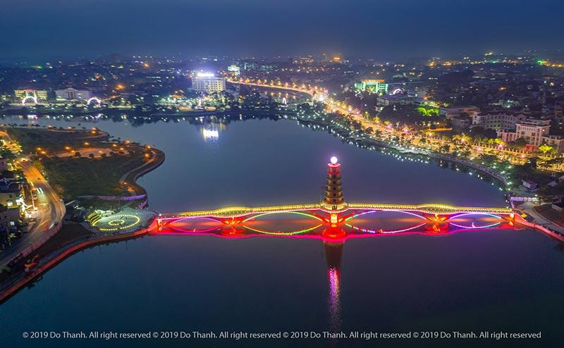 Cầu đi bộ HOT nhất Phú Thọ