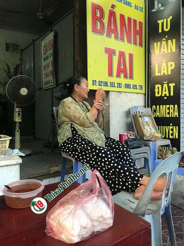 Bánh Tai bà Định chính gốc thị xã Phú Thọ