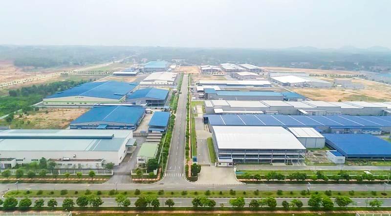 Khu công nghiệp Phú Hà, thị xã Phú Thọ.