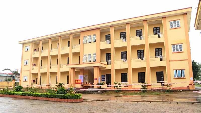 Bệnh viện dã chiến điều trị bệnh nhân Covid-19 tỉnh Phú Thọ.