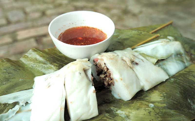 Bánh tẻ Hà Thạch, thị xã Phú Thọ