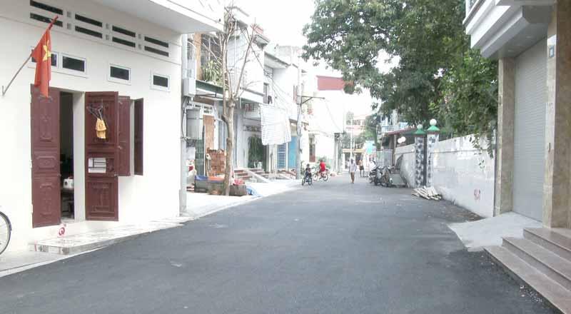 Khu dân cư Nguyễn Du, phường Âu Cơ, thị xã Phú Thọ